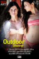 Margot A & Rosaline Rosa - Outdoor Shower